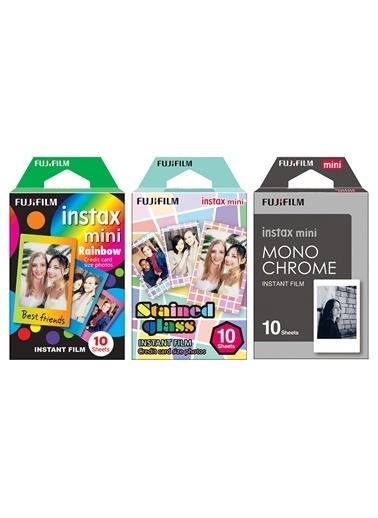 Fujifilm instax mini 3'lü Özel Film Set 30 Poz Renkli